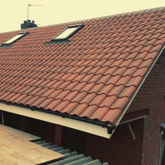 Back Extension And Mansard Roof / V&B Builders Norwich
