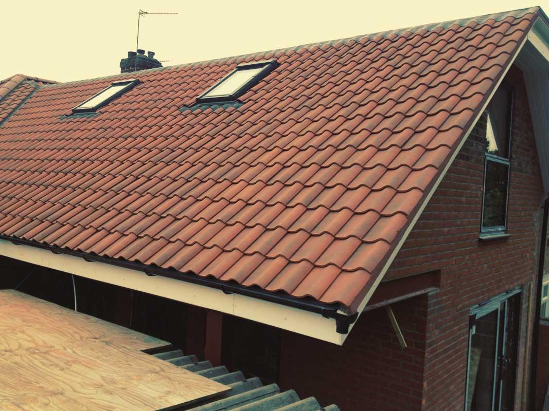back extension and mansard roof v b builders norwich. Black Bedroom Furniture Sets. Home Design Ideas